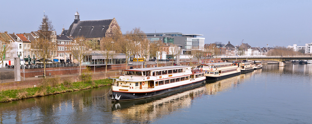 Maastricht from the Maas